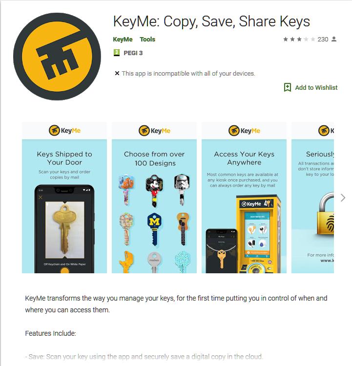 keyme app google play