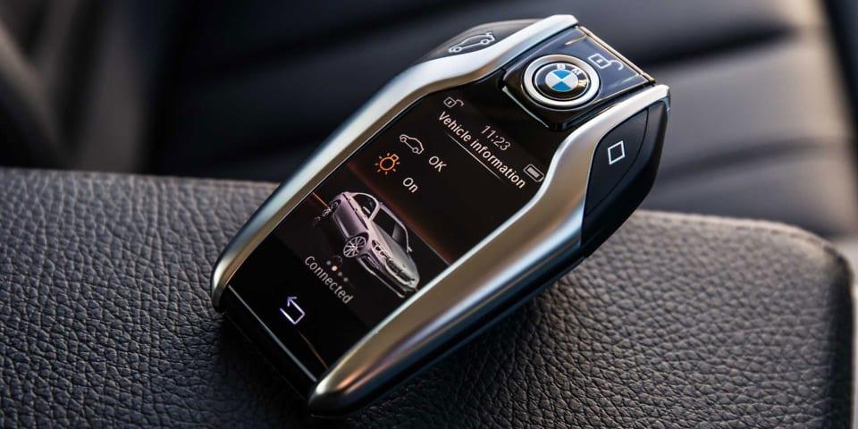 BMW 5 autókulcs