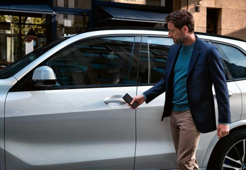 BMW digitális kulcs